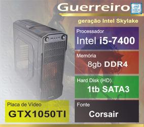 Computador Intel Core I5 7400 1tb Gtx1050ti 7ªger Guerreiro