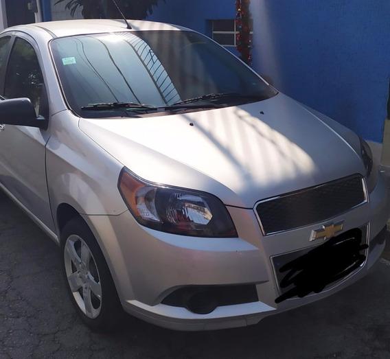 Chevrolet Aveo 2015 Paq. Lt. A/c , Mt Sedan Unico Dueño