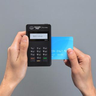Maquina De Cartão Point Mini + Cartão Prépago Mercadopago