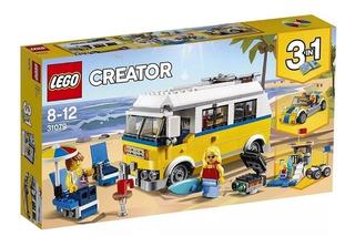 Lego Furgoneta De Playa
