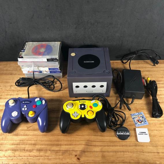 Coleção: Console Nintendo Gamecube Original Japonês C/ 8 Jogos Originais!! Confira!!