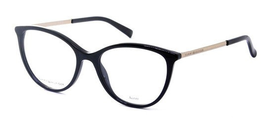 Óculos Grau Tommy Hilfiger Th1590 807 52 - Preto