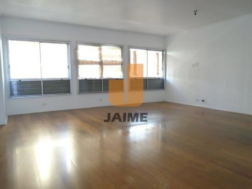 Apartamento Para Locação No Bairro Higienópolis Em São Paulo - Cod: Ja3642 - Ja3642