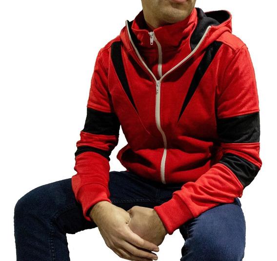 Chaqueta Forrad Assassins Creed Cuello Doble Original Impaz