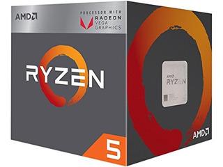 Procesador Amd Ryzen 5 2400g Con Gráficos Radeon Rx Vega 11