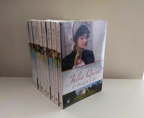 Kit Série Os Bridgertons (julia Quinn) 9 Livros Lacrados
