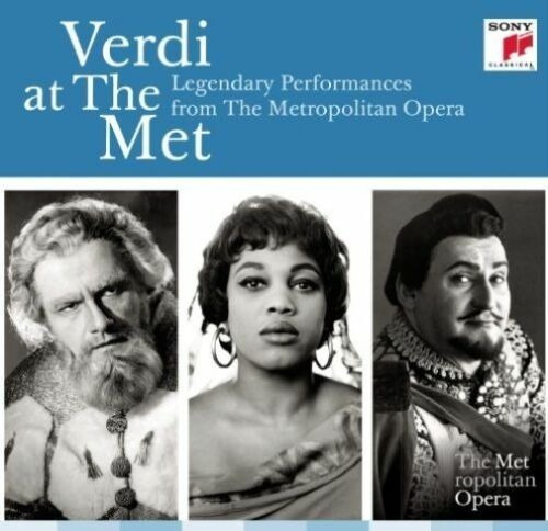 Verdi At The Met: Performances The Metropolitan Opera [20cd]