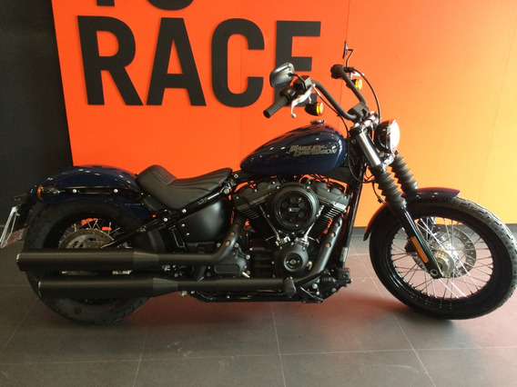 Harley Davidson - Street Bob - Azul