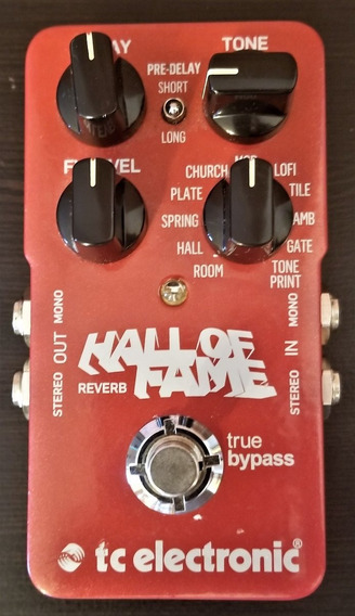 Pedal Reverb Tc Electronic Hall Of Fame