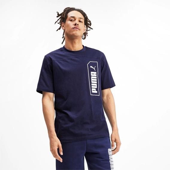 Camiseta Estampada Nu-tility Para Hombre