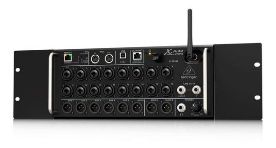 Mesa De Som Digital Behringer X Air Xr16 Mixer Usb 16 Canais