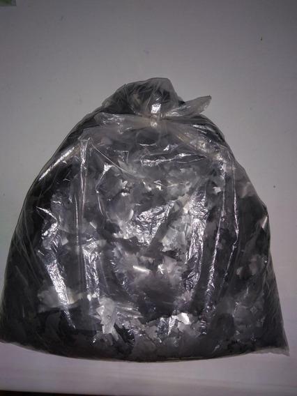 Papel Picado Metalizado Plateado ( Polietileno ) X 5 Kilos