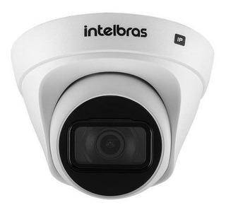 Cameras Ip Dome 4mp, Poe, 2,8mm Ir30mt Intelig. De Video