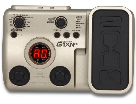Pedaleira Zoom G1xn Ext (pedal De Expressão) Guitarra