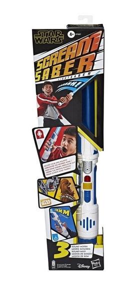 Star Wars Sabre Eletrônico Gravador Voz - Hasbro E7557