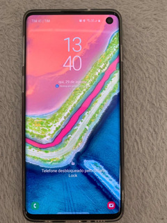 Celular Samsung Galaxy S10 G973 128gb 8gb Ram Branco Com Nf