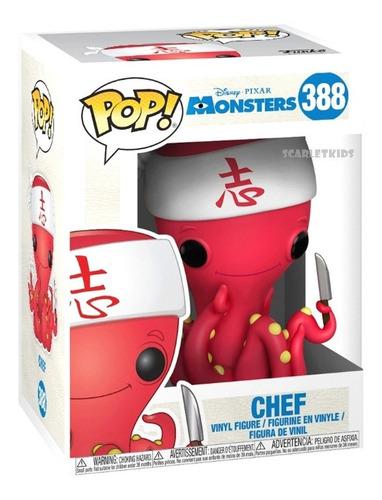 Funko Pop Monster Inc Chef 388 Disney Scarlet Kids Pixar