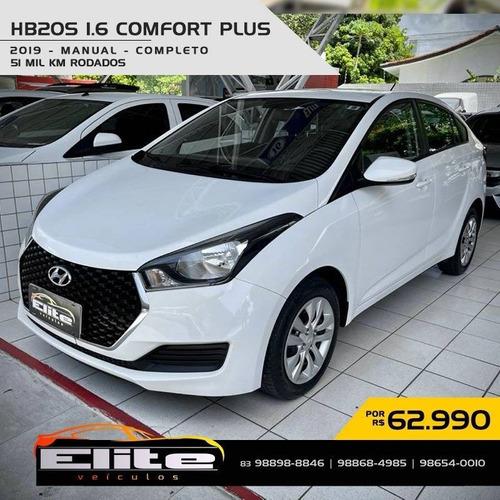 Hyundai Hb20s 1.6 Comfort Plus 16v Flex 4p Manual