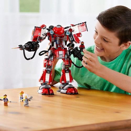 Imagen 1 de 7 de Juguete Lego Ninjago Fire Mech 70615 A Pedido!