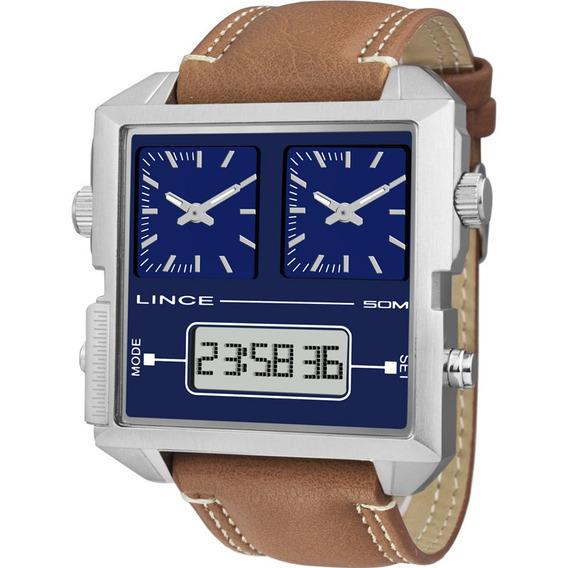 Relógio Lince Masculino Original Garantia Nota Mac4587sd1mx