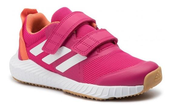 Zapatillas adidas De Niña Fortagym Kids Fucsia G2720 Abrojo