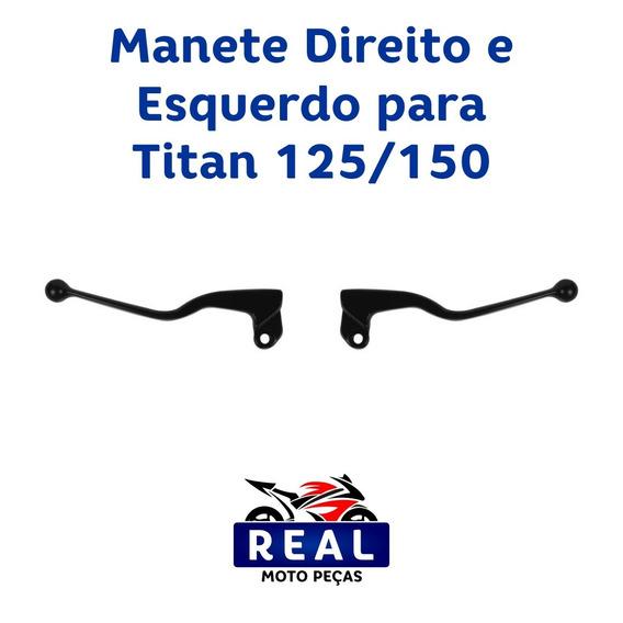 Manete Direito E Esquerdo Titan 125 / 150
