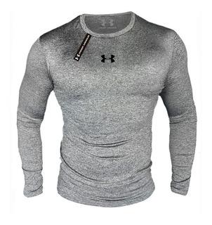 Buzos Camisetas Lycra Slim U A Fit