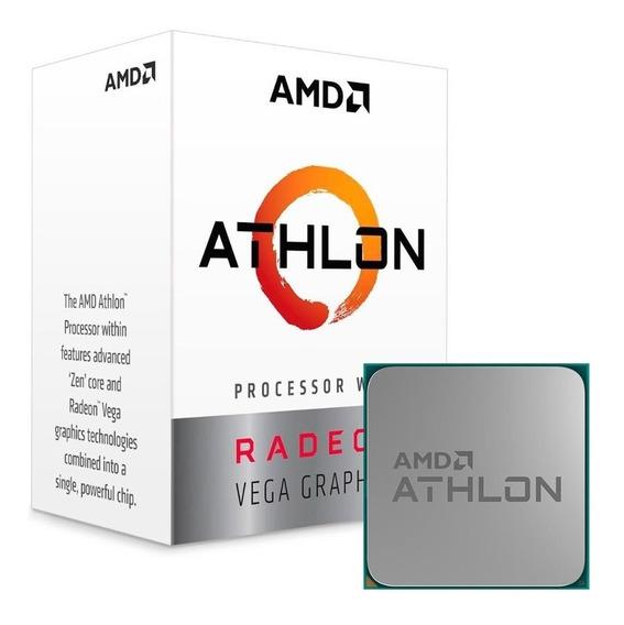 Processador Amd Athlon 200ge (am4 - 2 Núcleos - 3.2ghz) - Yd200gc6fbbox