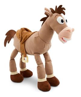 Disney Store Peluche Toy Story Caballo Tiro Al Blanco Origin