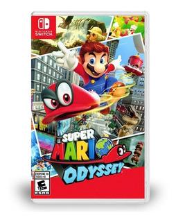 Super Mario Odyssey Nintendo Switch Nuevo Español Sellado