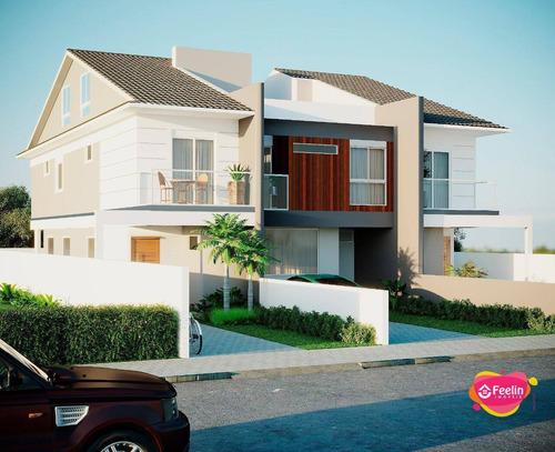 Imagem 1 de 30 de Casa Com 3 Dormitórios À Venda, 168 M² Por R$ 810.000,00 - Campeche - Florianópolis/sc - Sc - Ca0125_feelin