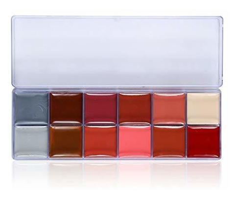 Imagen 1 de 7 de Cara Pintura Corporal Maquillaje De Belleza A Prueba De Agua