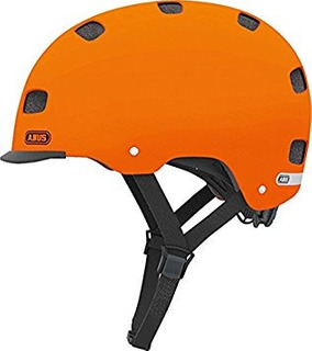 Casco Abus Scraper Talla Mediana Color Naranja