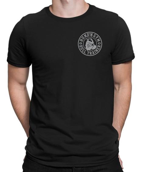 Remera Bull Terrier Hf ® Escudo Gym Original 100% Serigrafia