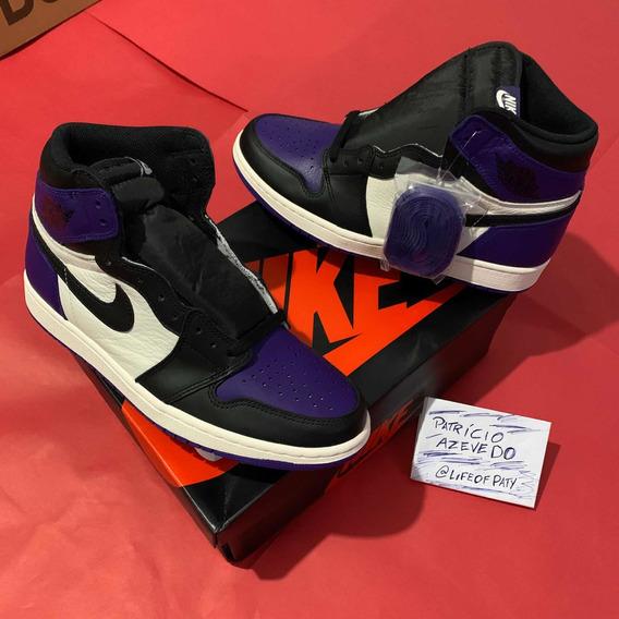 Air Jordan 1 Court Purple 41 Dswt