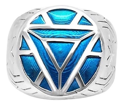 Anillos Para Hombre Menøs Iron Man Ring - 9 - Turquoise