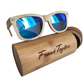 95c2bac757 Gafas De Sol De Madera Hechas A Mano Por Frank Taylor 1 Añ