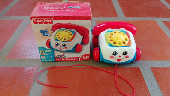 Teléfono Para Arrastrar Fisher Price Chatter