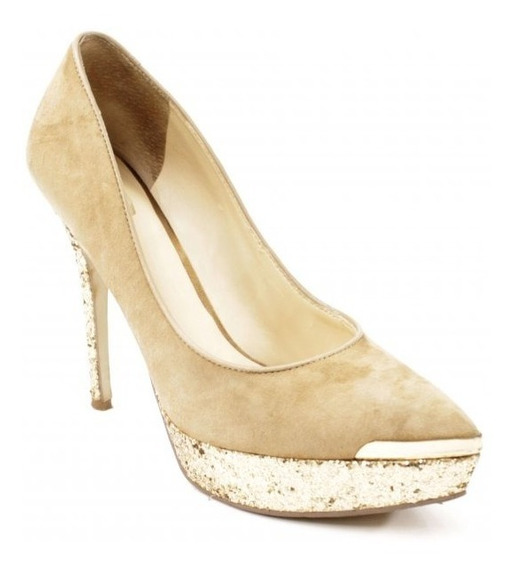 Zapatos Color Beige Guess