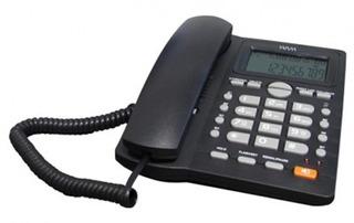 Teléfono Alámbrico Wam As7412-b(w) Facturado