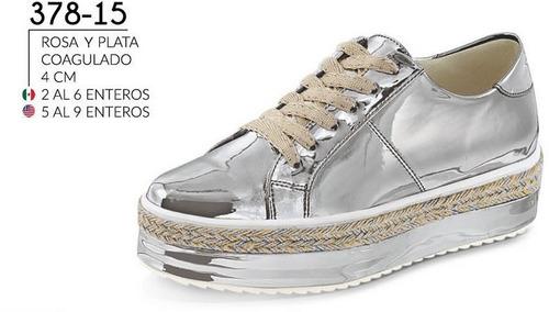 3faf9406 Cklass Zapatos Rosas - Zapatos Plateado en Mercado Libre México