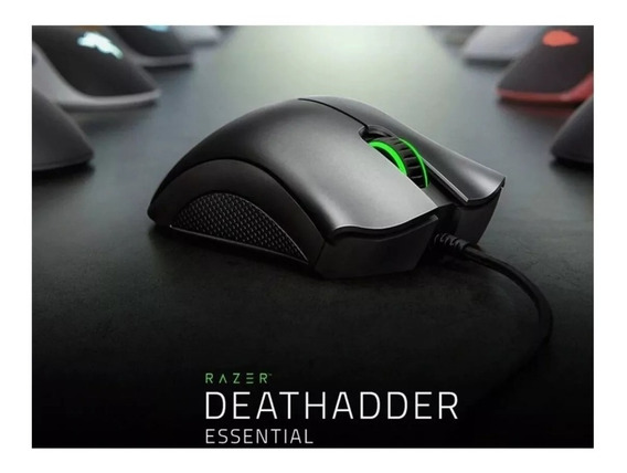 Mouse Gamer Razer Deathadder 6400 Dpi Promoção Natal Super