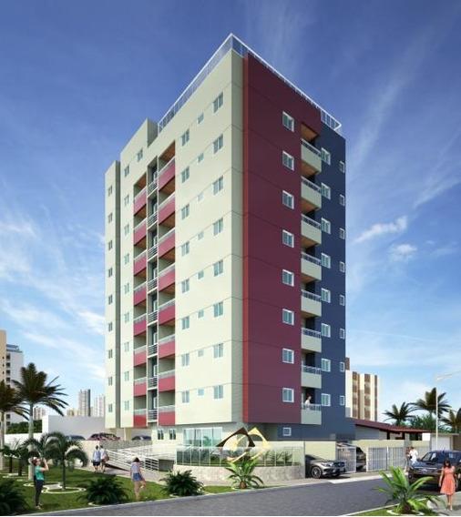Apartamento Para Venda Em Cabedelo, Intermares, 2 Dormitórios, 1 Suíte, 1 Banheiro, 1 Vaga - 7655