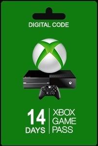 Tarjeta Xbox Game Pass 14 Dias - 6 Meses Gift Card Usa