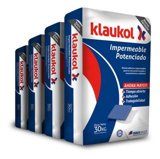 Klaukol Impermeable Potenciado X Bolsa De 30kg Para Ceramica