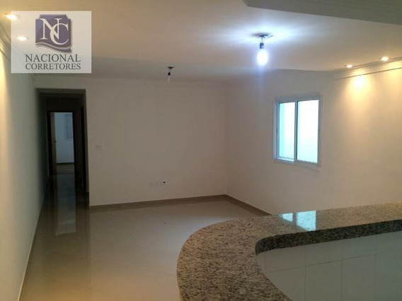 Apartamento Com 3 Dormitórios À Venda, 80 M² Por R$ 370.000 - Vila Metalúrgica - Santo André/sp - Ap2936