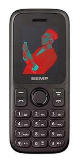 Celular Semp Go! 1c, 2 Chips, Câmera, Mp3, Rádio Fm - Preto