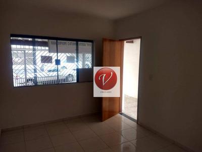 Sobrado Com 2 Dormitórios Para Alugar, 178 M² Por R$ 2.000/mês - Jardim Las Vegas - Santo André/sp - So0722