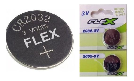 Par De Pilha Bateria Cr 2032 3v - Validade 12/2025