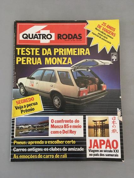 Revista Quatro Rodas - Julho 1985 - Nº 300 Monza Perua